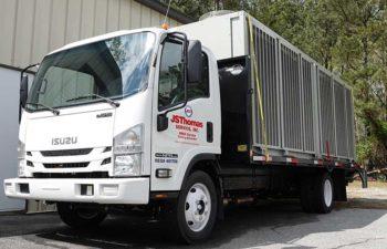JSThomas truck with HVAC unit.